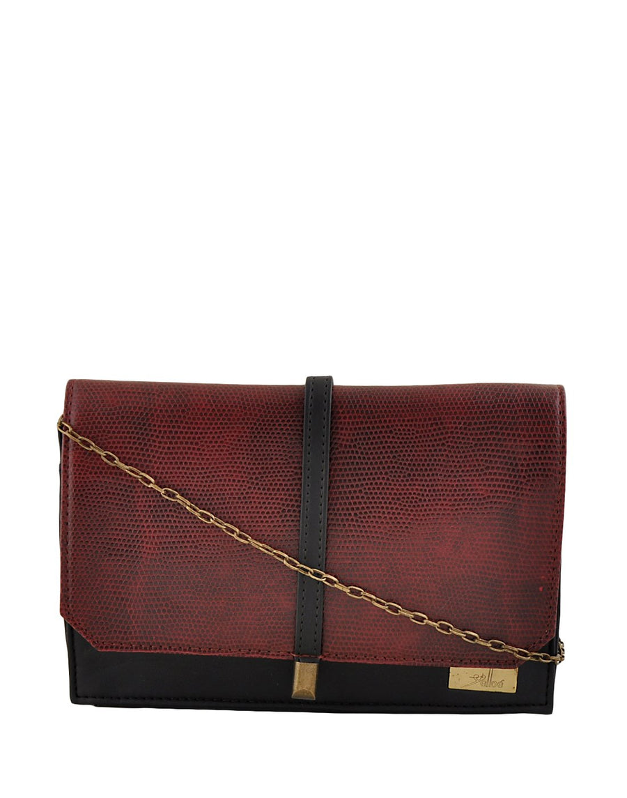 Yelloe Women's Clutch (Red)