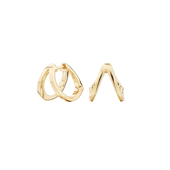 Pendientes Doble Criolla Urban Oro SEA-200-042-UU Itemporality