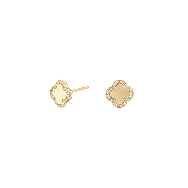 Pendientes Cube Flor Oro SEA-401-061-UU- Itemporality