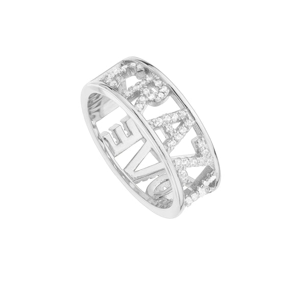 Anillo Crazy Love Plata