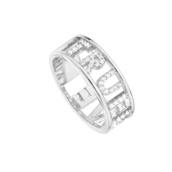 Anillo True Love Plata