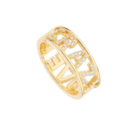Anillo Crazy Love Oro