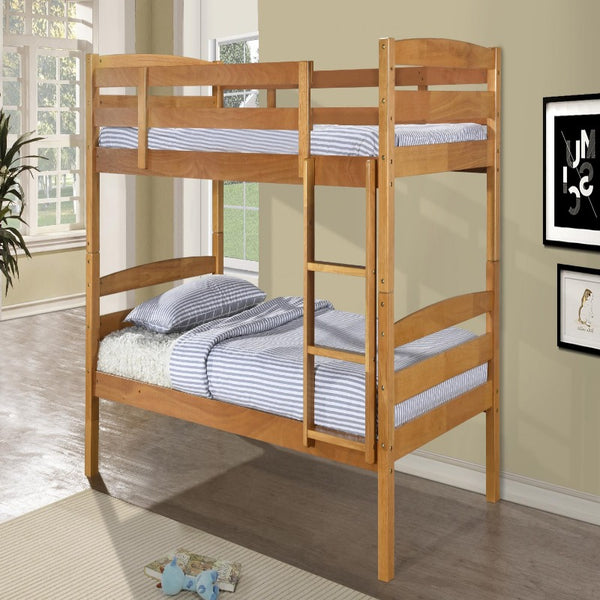 Tripoli Solid Wood Bunk Bed Antique Pine