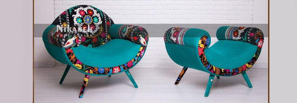 Fashion Needlework Stool Couches