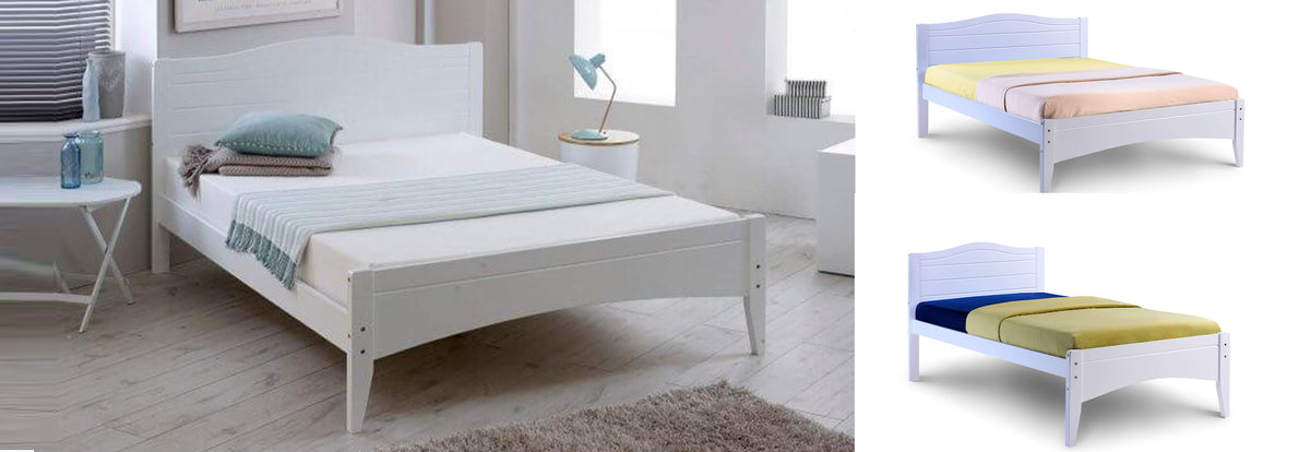 Lauren Wooden Bed - Teyli Furniture