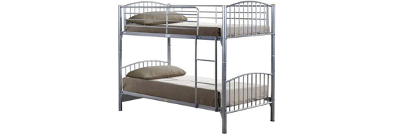 Lynton Metal Bunk Bed 3ft Single - Teyli Furniture
