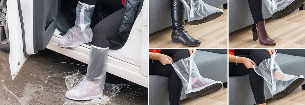 POCKET RAIN COVER FOR FEET (PACK OF 2)