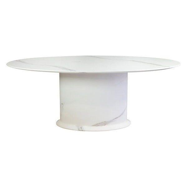 DINING TABLE GREECE MARBLE (200 X 100 X 76 CM)