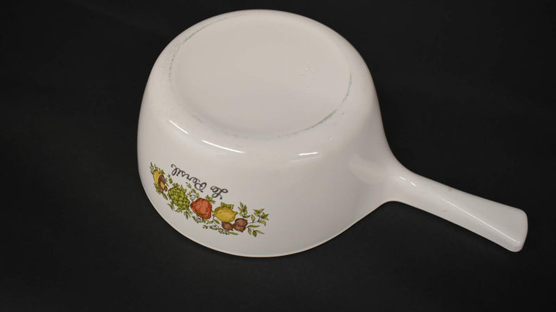 Mid Century Spice Of Life - Corning Ware Casserole - Round Shape with handle