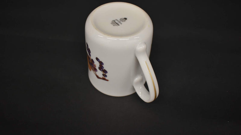 Royal Worchester Evesham - Porcelain Fine China - Mug - Gold Trim - From England