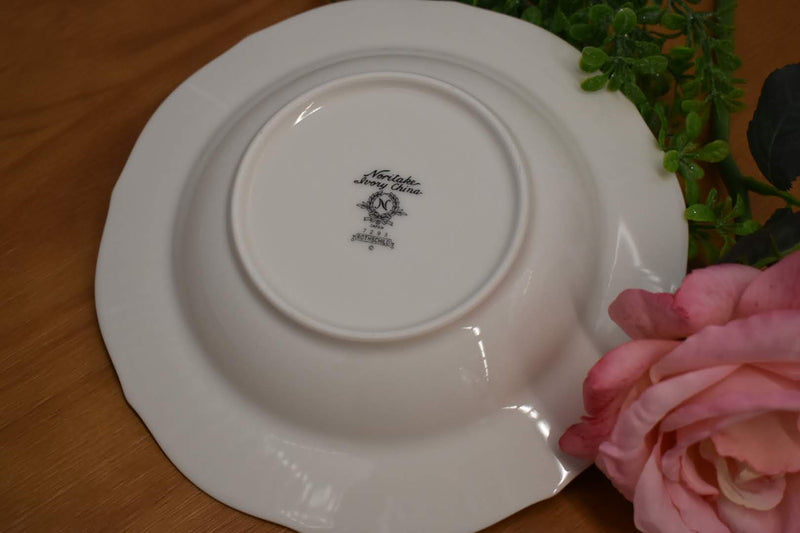 Noritake Rothschild Pattern - Porcelain Fine China - Round Soup Vegetable Bowl