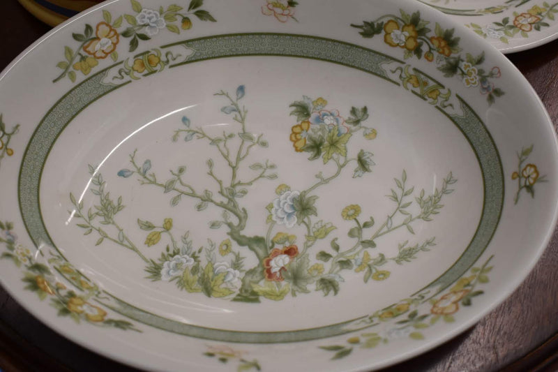 Royal Doulton Tonkin -  Fine Porcelain China - Cheese Plate - Vegetable Bowl