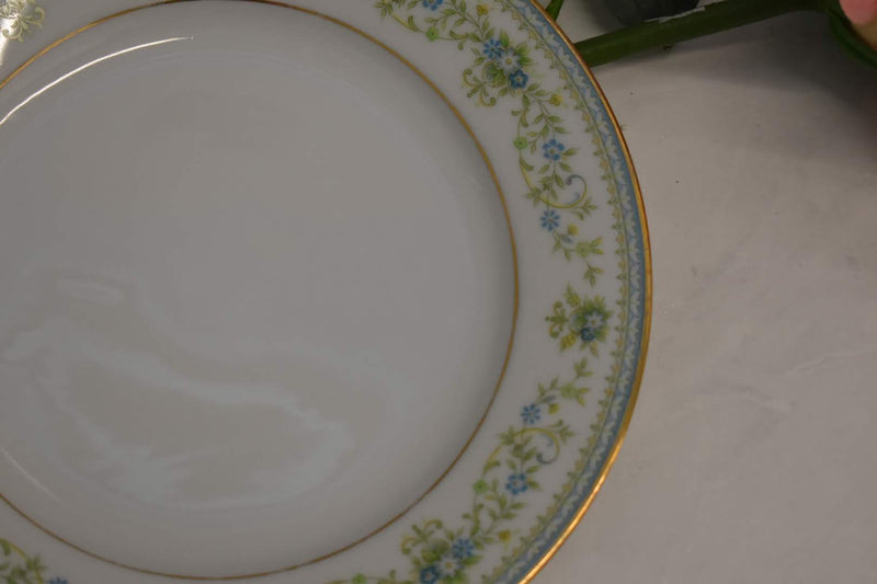 Noritake Contemporary Spring Meadow - Fine Porcelain China - Bread Sandwich Plate- Platter