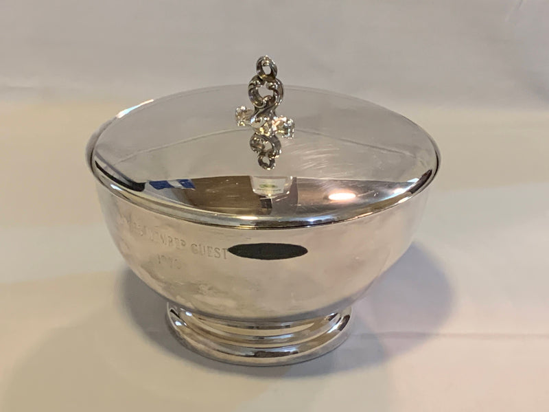 Silver Plated Mid Century - Serving Dish and Lid