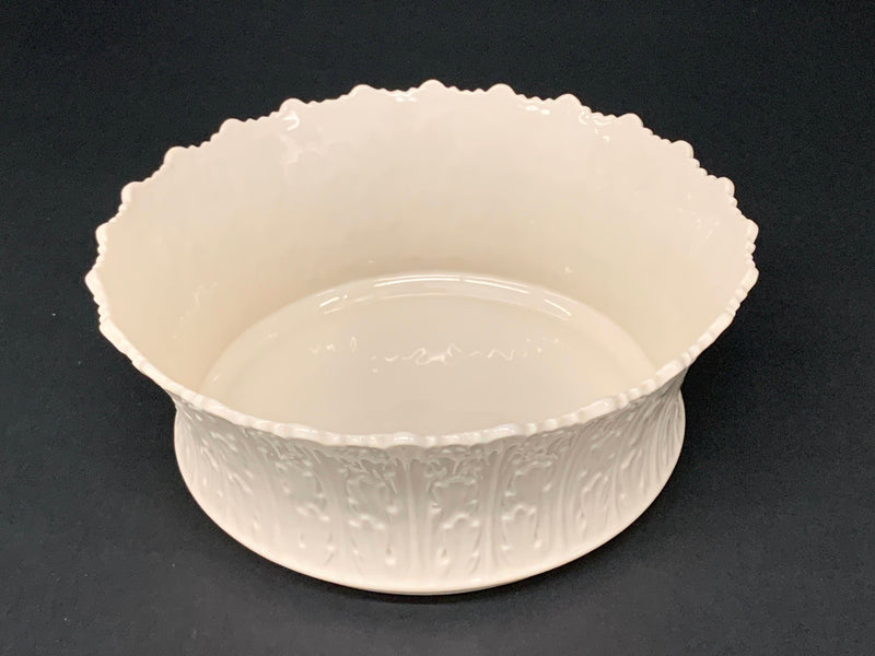 PORCELAIN FINE CHINA - ENGRAVED PATTERN - HOME DECOR BOWL -BRAND NEW