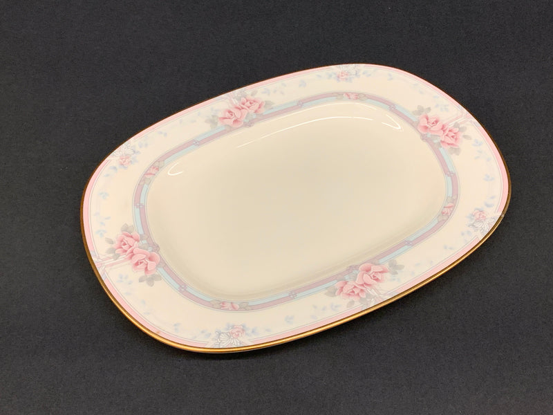 IVORY COLOR - NORITAKE MAGNIFICENCE PORCELAIN MID CENTURY FINE CHINA  - GRAVY BOWL WITH PLATE