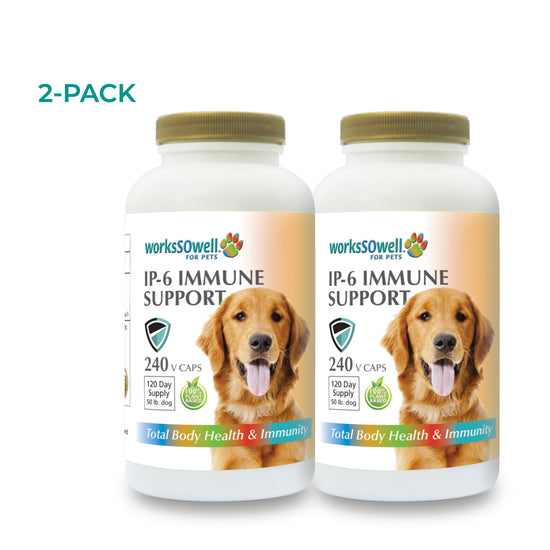 IP-6 IMMUNE SUPPORT for Dogs 2 Bottles (480 V-Caps)