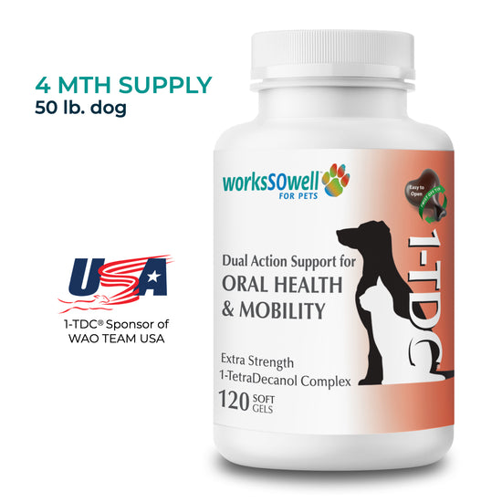 1TDC for Oral Health + Mobility Support for K9 Sports