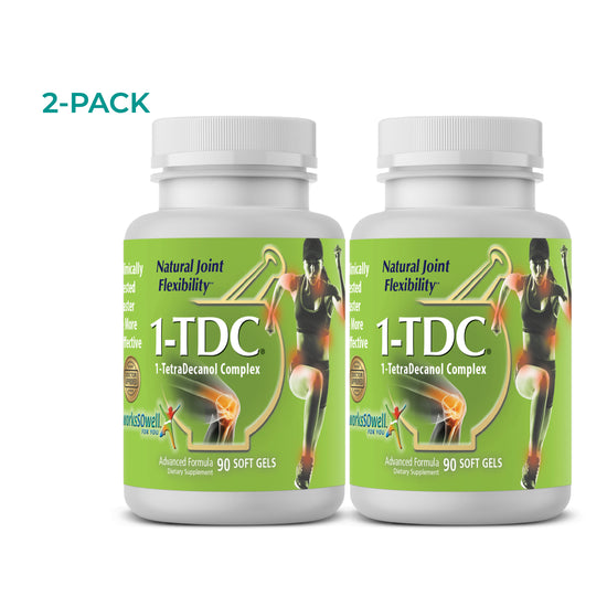 1-TDC Joint & Muscle Health Daily Supplement -2 Bottles (180 soft gels)