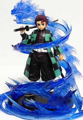 Tanjiro Water Breathing Effect | Action Figure