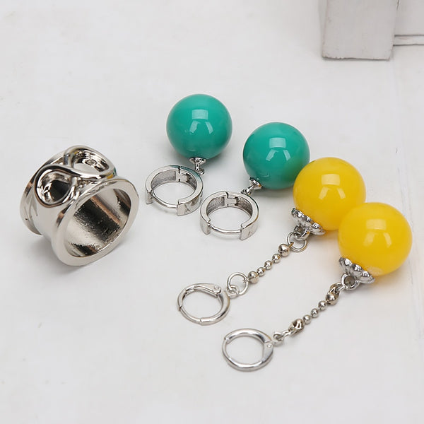 Potara Earrings and Time Ring | Cosplay Items