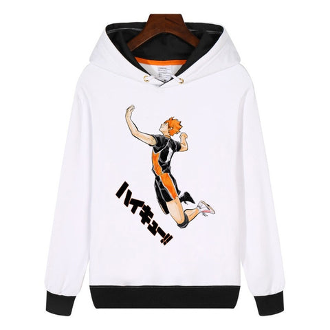Hinata Casual Hoodie | Highest Quality Print