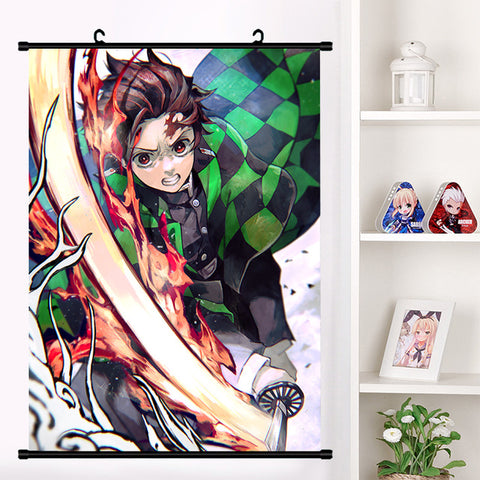 Tanjiro Wall Scroll | Home Decor Poster #2