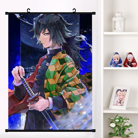 Giyuu Wall Scroll | Home Decor Poster #2