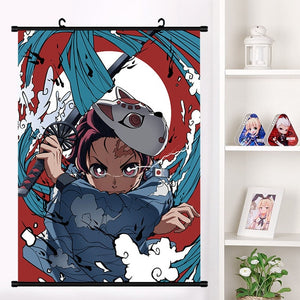 Tanjiro Wall Scroll | Home Decor Poster