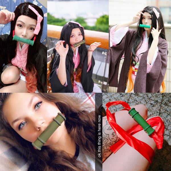 Nezuko's Mouth Seal | Cosplay Item