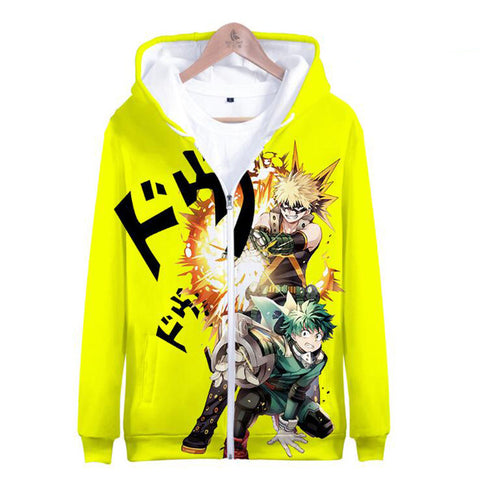 Bakugo, Deku and more Full Print Hoodies | 11 NEW Designs