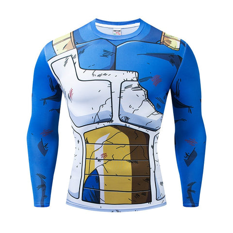 Saiyan Armor T-Shirt | Vegeta Version