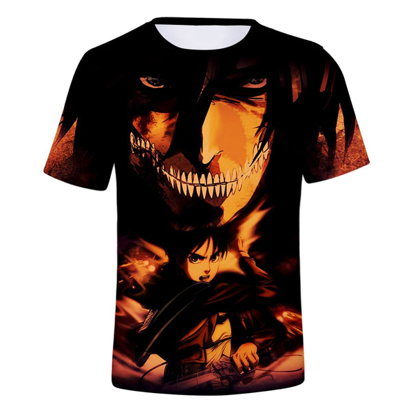 Eren Yeager Full Print T-Shirt | 3 Different Designs