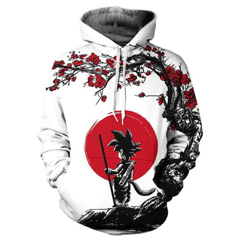 SON Full-Print Jacket | Red Moon Petals Design