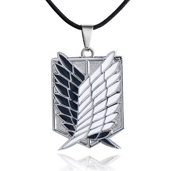 Wings of Freedom Metal Necklace