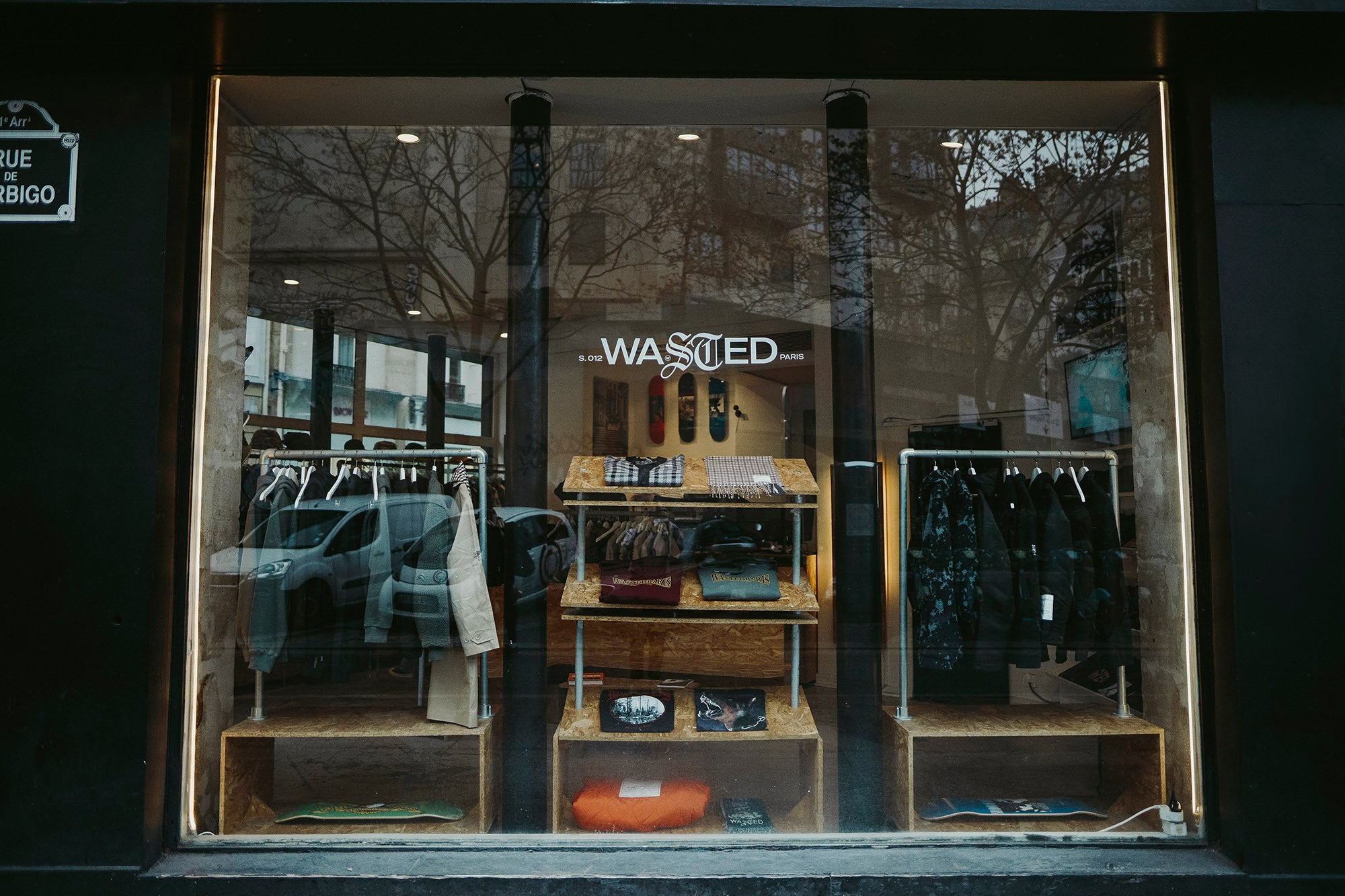 wasted paris boutique store