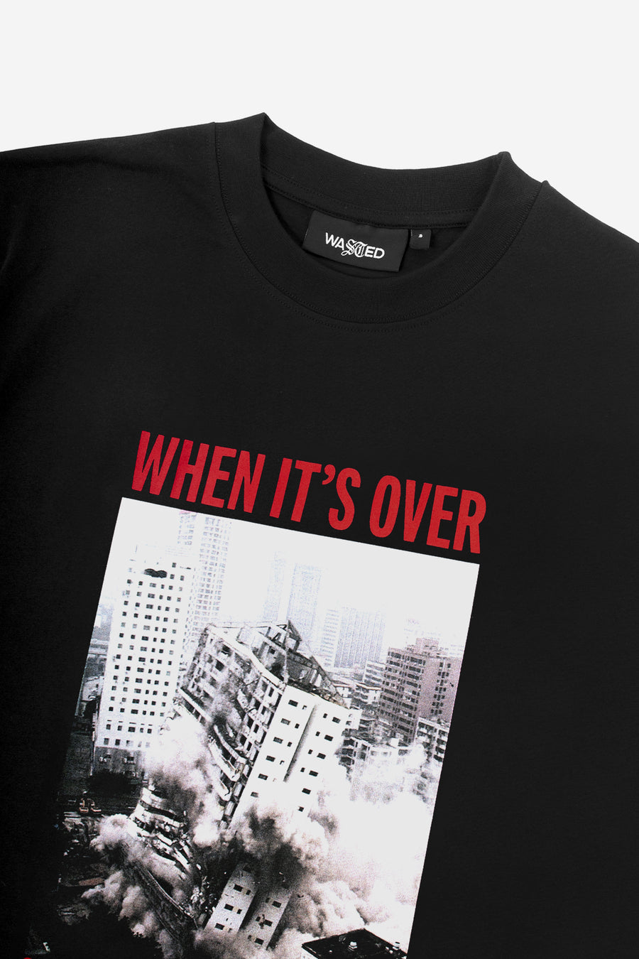 T-shirt Over Noir