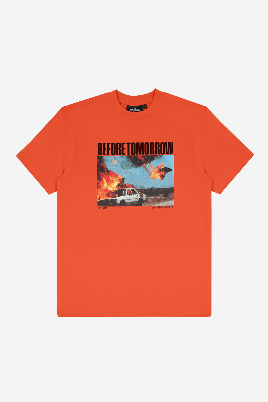 T-shirt Before Tomorrow Orange