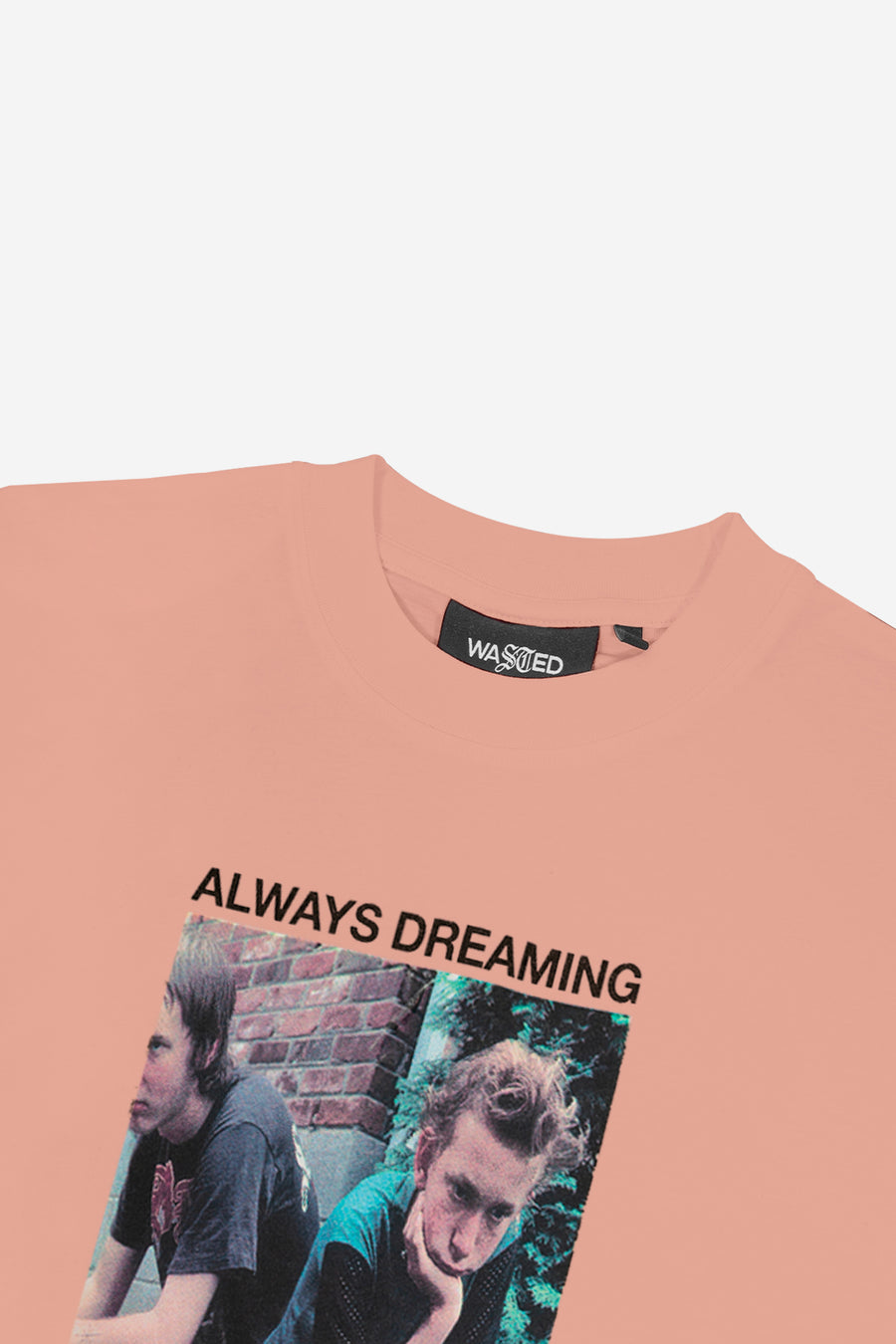 T-shirt Always Dreaming Rose Poudré