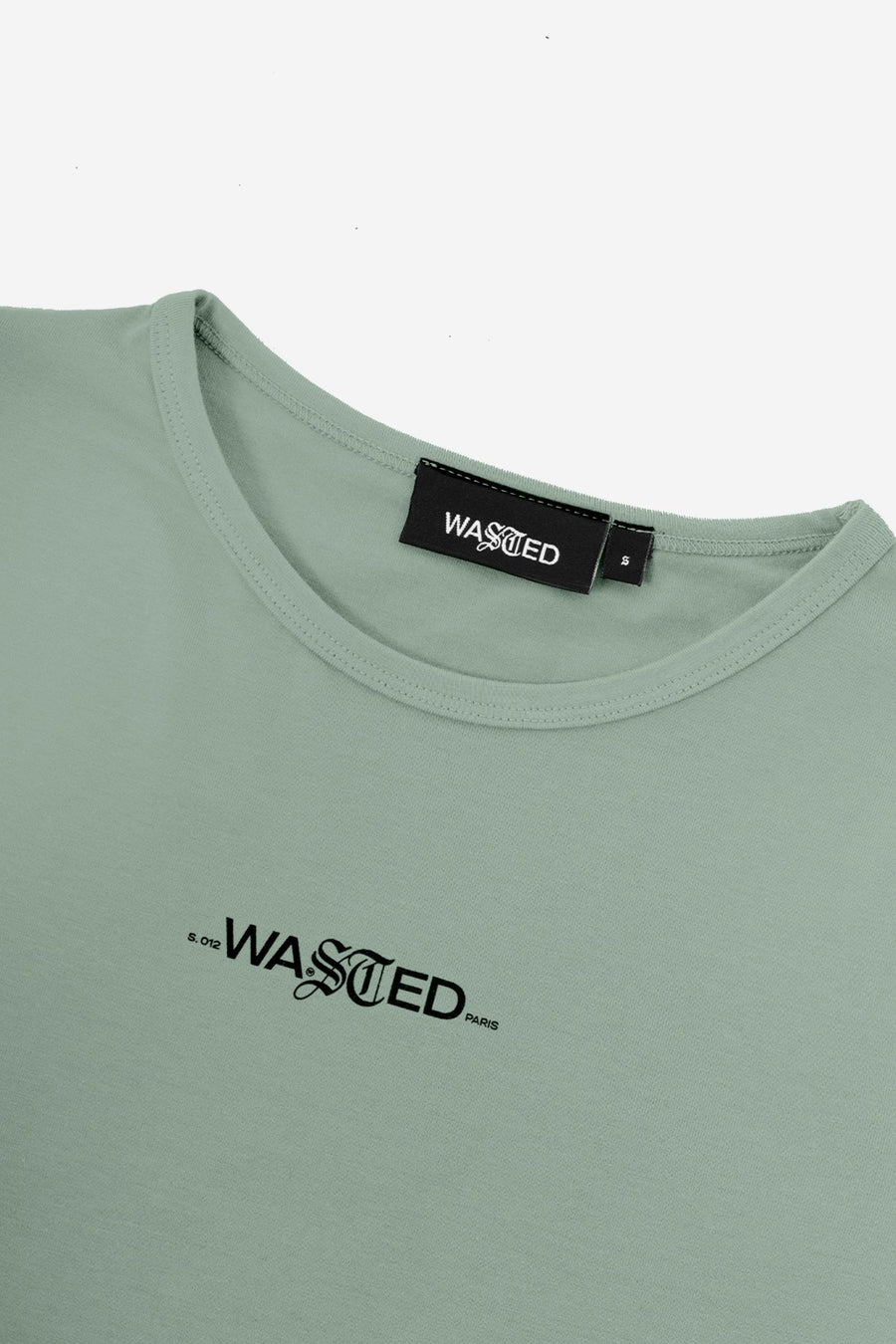 Bella Crop Top Signature Menthe - WASTED PARIS
