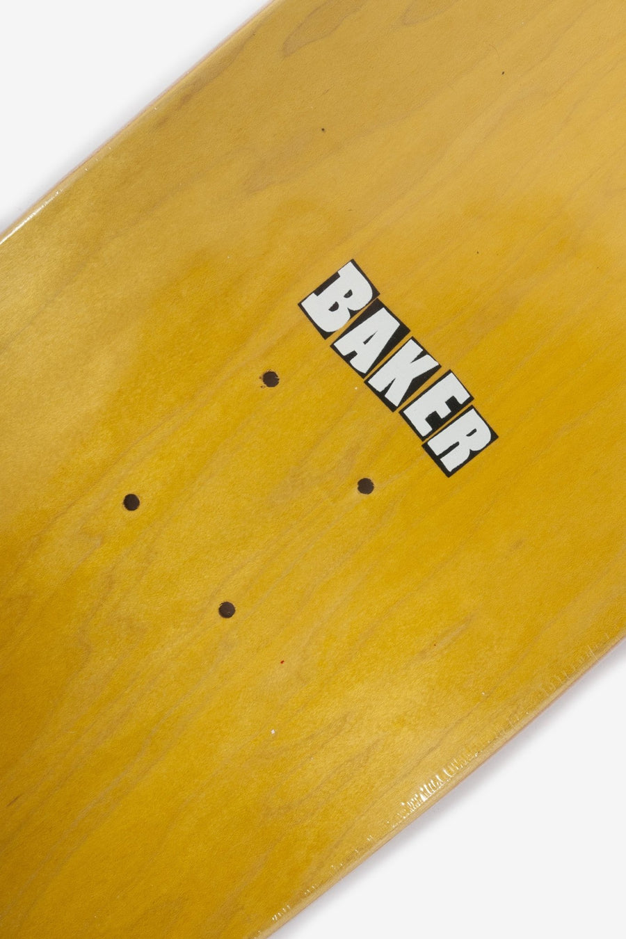 Board Baker Brand Logo Blanc - WASTED PARIS