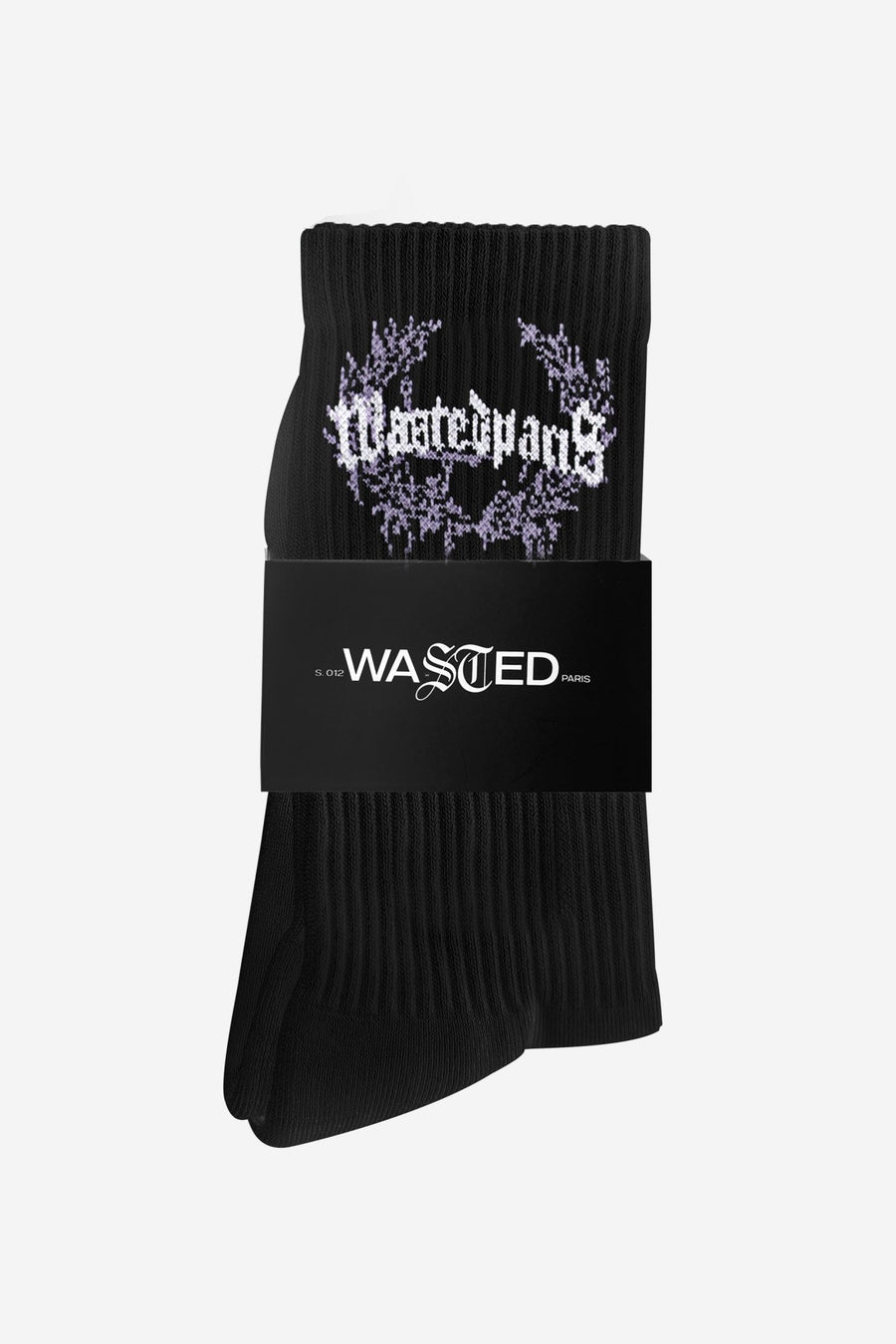 Chaussettes Columbia Noires - WASTED PARIS