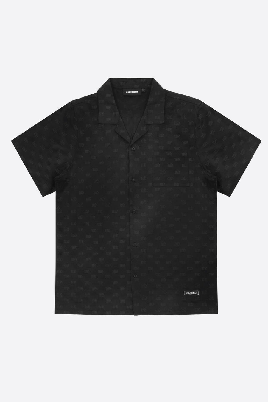 Chemise Monogram Noir - WASTED PARIS
