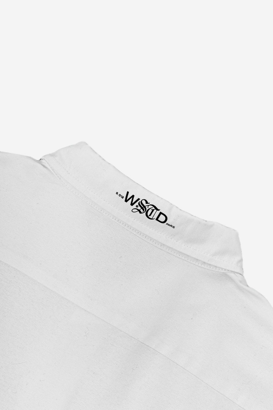Chemise Signature Blanche - WASTED PARIS