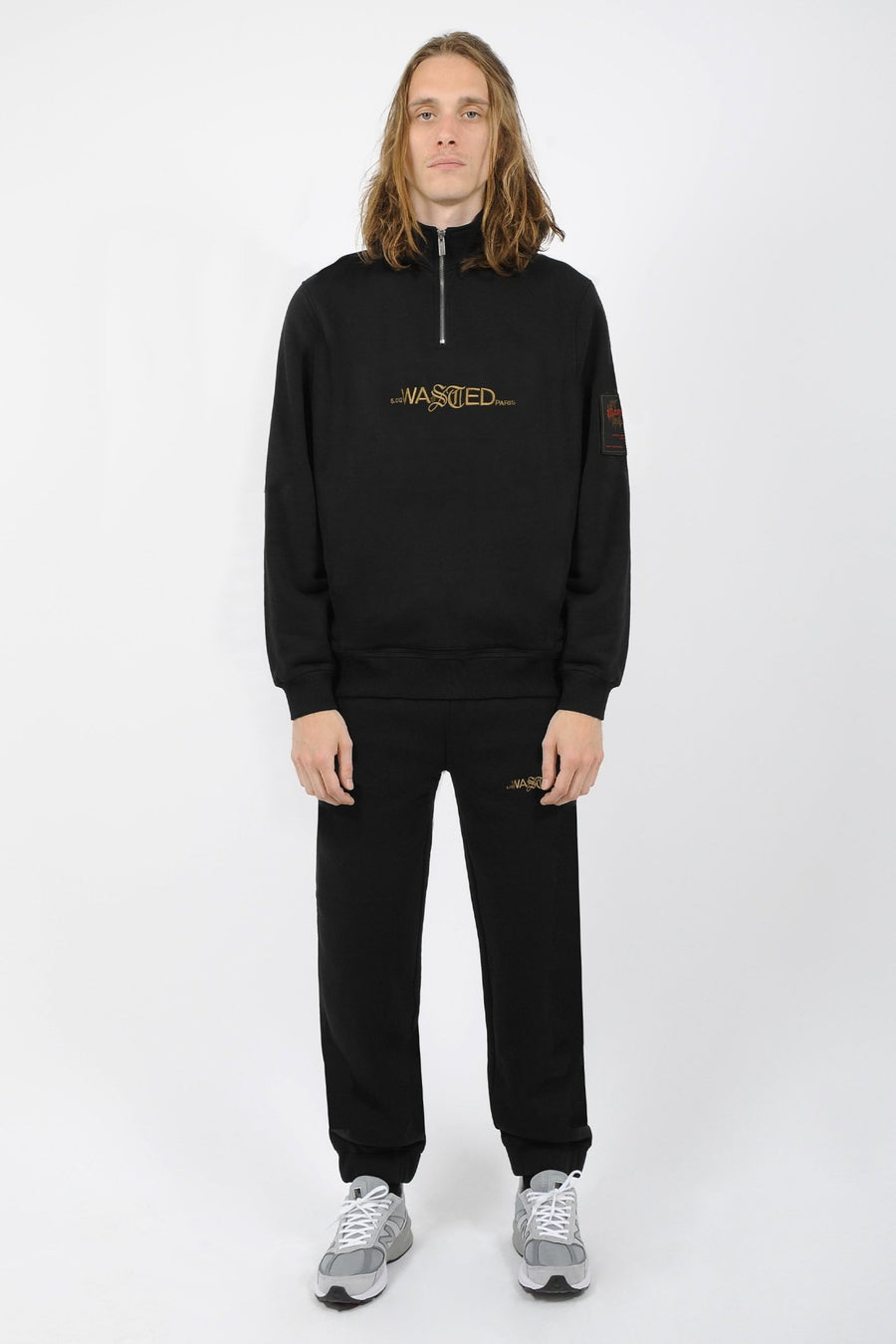 Crew Funnel Essentiel Noir SS21 - WASTED PARIS