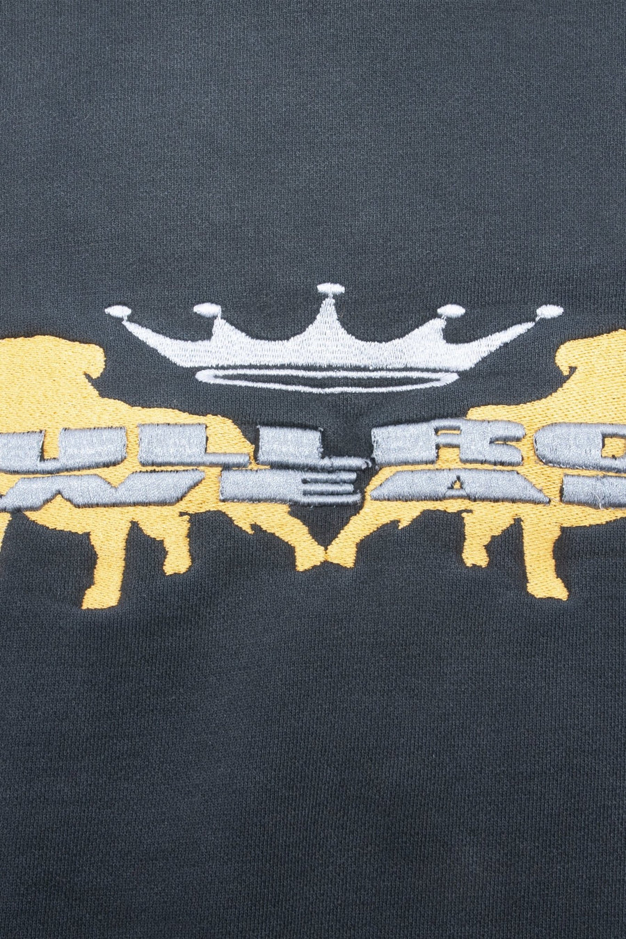 Crewneck Bullrot Brodé Jaune - WASTED PARIS