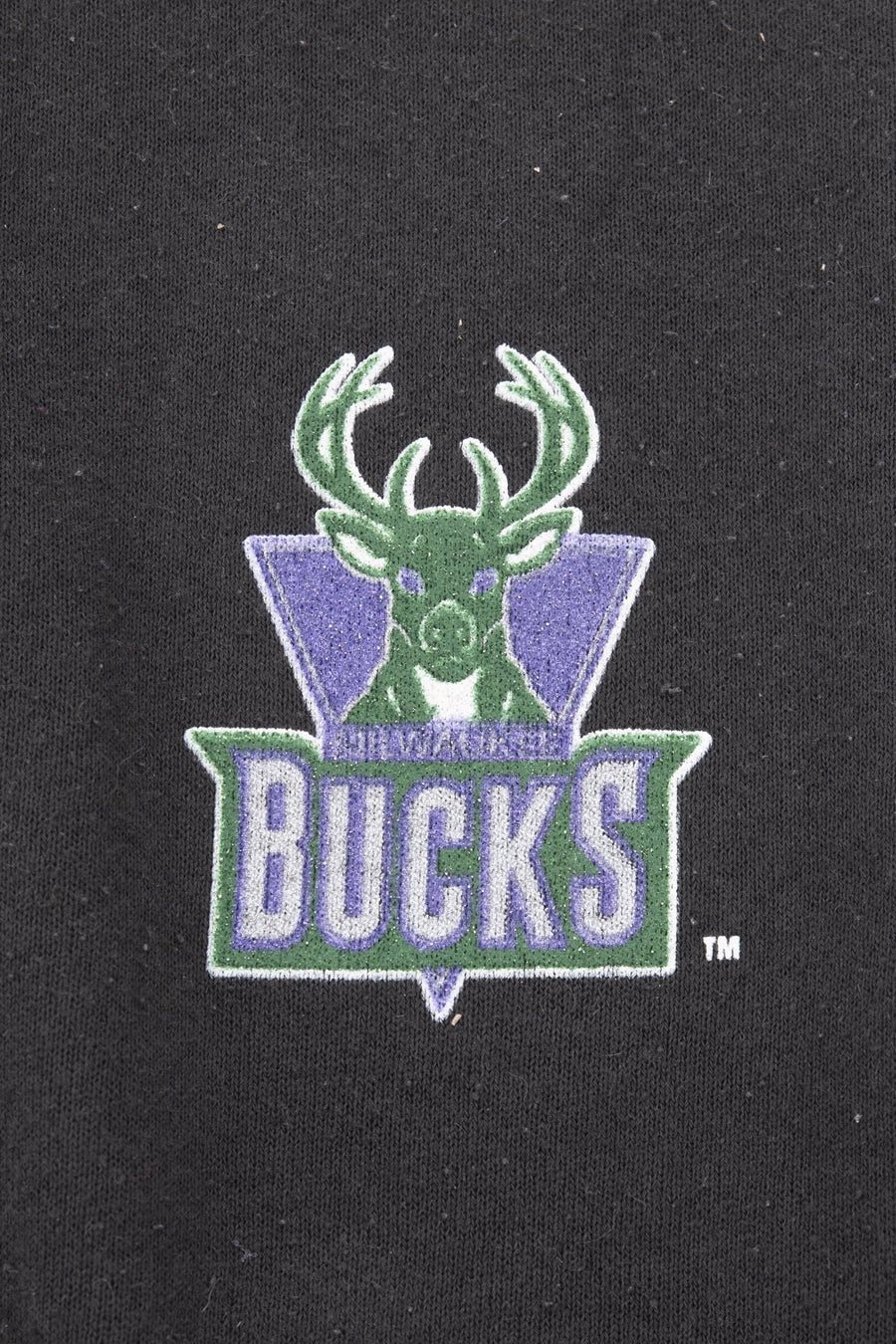 Crewneck Milwaukee Bucks 90' - WASTED PARIS