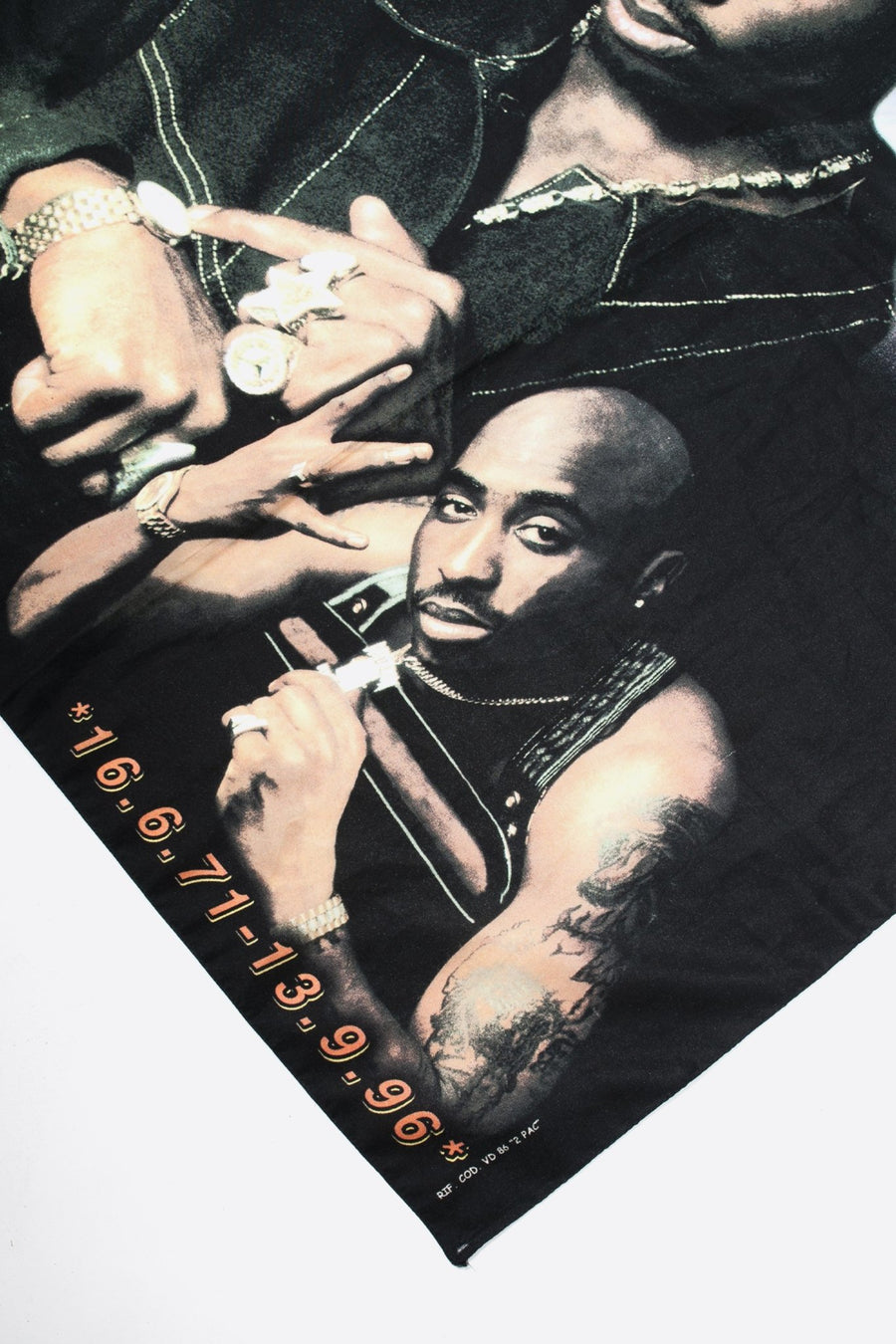 Drapeau Tupac 1996 - WASTED PARIS