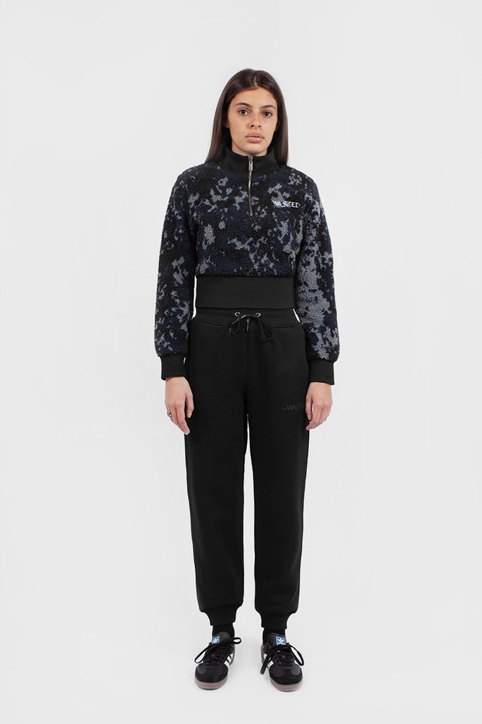 Funnel Femme Abstract Camo Noir - WASTED PARIS
