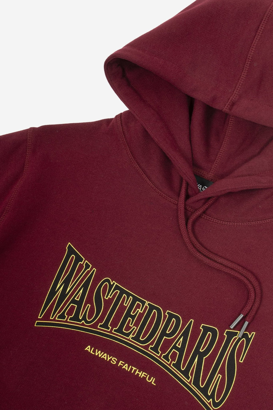 Hoodie Casual Bordeaux - WASTED PARIS